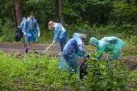 На экотропе «Малиновая засека» прошел Всероссийский субботник, Фото: 28