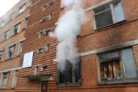 В Скуратово загорелось заброшенное училище, Фото: 1