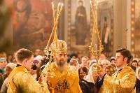 Рождественское богослужение в Успенском соборе Тулы, Фото: 15