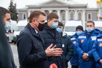 Алексей Дюмин передал региональному Центру медицины катастроф 39 новых автомобилей, Фото: 15