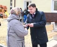 Церемония вручения ключей от новых квартир переселенцам из аварийного жилья в Узловой, Фото: 11
