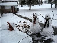 Задорные снеговики, Фото: 2