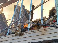 На ул. Баженова в Туле крупный пожар уничтожил жилой дом, Фото: 12