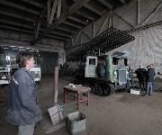 """Восстановление """"Катюши"""" в Новомосковске., Фото: 7"""