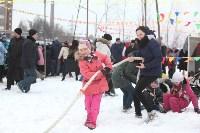 Как туляки провожали зиму на набережной Упы, Фото: 51