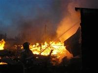 Пожар в Заокском районе, Фото: 3