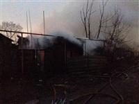 В Пролетарском районе сгорел дом, Фото: 8