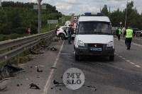 В ДТП под Тулой погибли три сотрудника УФСИН, Фото: 14