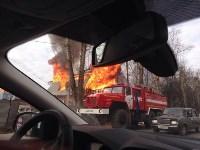 На Одоевском шоссе сгорел дом, Фото: 6