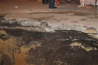 Глубина провала на Одоевском шоссе в Туле - примерно 3 метра, Фото: 5