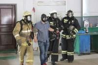 Тульские пожарные обучили таможню  бороться с огнём, Фото: 5