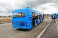 Московские автобусы вышли на маршрут, Фото: 5
