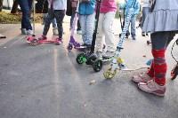 Туляки «погоняли» на самокатах в Центральном парке, Фото: 5