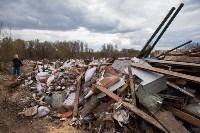 В Туле на берегу Тулицы обнаружен незаконный мусорный полигон, Фото: 26