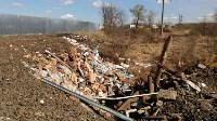 В Туле на берегу Тулицы обнаружен незаконный мусорный полигон, Фото: 16