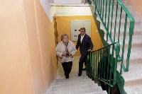 Алексей Дюмин посетил дом в Ясногорске, восстановленный после взрыва, Фото: 3