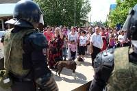 В Плеханово начали сносить дома в цыганском таборе, Фото: 118