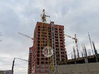 В Туле на улице Маргелова башенный кран «прилег отдохнуть», Фото: 4