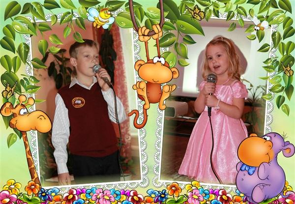 Юные певцы.