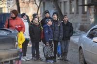 У дома, поврежденного взрывом в Ясногорске, демонтировали опасный угол стены, Фото: 37