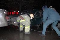 В Туле пьяный на Audi протаранил пять автомобилей, Фото: 9