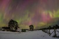 Северное сияние в России. Фото из соцсетей., Фото: 10