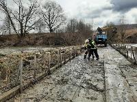Паводок отступает: транспортное сообщение по мостам в Одоевском и Суворовском районах восстановлено, Фото: 3