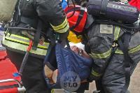 В Туле сотрудники МЧС эвакуировали госпитали госпиталь для больных коронавирусом, Фото: 35