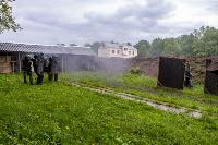 В Туле спецподразделения ОМОН и СОБР провели учения, Фото: 23