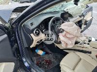В серьезном ДТП на М-2 в Туле пострадали три человека, Фото: 13