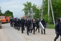В Плеханово начали сносить дома в цыганском таборе, Фото: 1