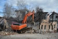 Снос аварийного дома на улице Октябрьской, Фото: 33