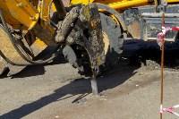 В посёлке Южный стартовали работы по обустройству ливневой канализации, Фото: 5