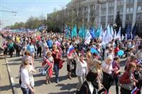 Тульская Федерация профсоюзов провела митинг и первомайское шествие. 1.05.2014, Фото: 64
