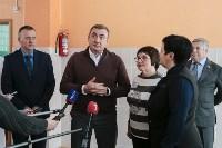 Алексей Дюмин в гимназии Кимовска, Фото: 3