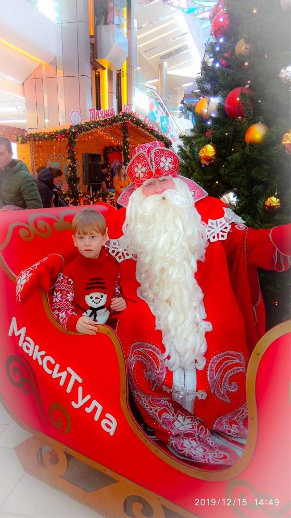 Ожидая своей очереди на фото с дед Морозом ребенок мне сказал: мам, он правда настоящий! 🤗🎅 #российский_дед_Мороз в 100 000 раз лучше всяких Санта-Клаусов) восторг детских глаз не передать словами 🎄✨