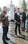 Субботник в Комсомольском парке с Владимиром Груздевым, 11.04.2014, Фото: 14