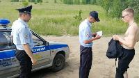 Опашка, бетонные блоки и разъяснения указа губернатора: Полицейские провели рейд в Кондуках, Фото: 5