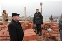 Осмотр кремля. 2 декабря 2013, Фото: 18