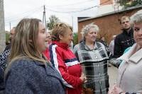 Алексей Дюмин посетил дом в Ясногорске, восстановленный после взрыва, Фото: 1