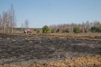 В Белевском районе провели учения по тушению лесных пожаров, Фото: 3