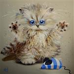 Рисованные котики, Фото: 3