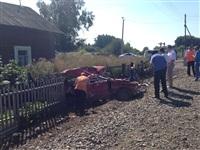 В Узловском районе поезд протаранил легковушку, Фото: 3