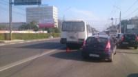 Два ДТП на проспекте Ленина. 08.08.2014, Фото: 1