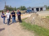 Евгений Авилов и тульские блогеры в Ленинском районе, Фото: 4