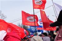 В Туле прошел митинг в поддержку Крыма, Фото: 7