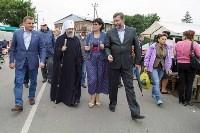 Алексей Дюмин посетил Епифанскую ярмарку, Фото: 3