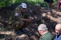 Останки бойцов в деревне Криволучье, Фото: 27