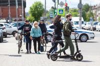 Полицейский рейд в тульских маршрутках: на пассажиров без масок составляют протоколы, Фото: 30