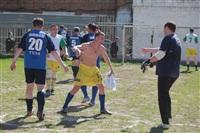 Тульские журналисты сыграли в футбол с зэками, Фото: 34
